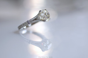 Helena Split-Shank Solitaire Engagement Ring