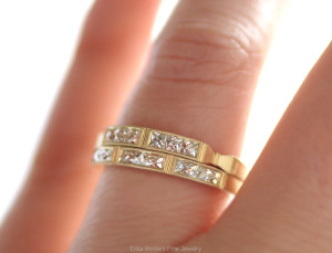 Erika Winters Fine Jewelry: Eleanor and Isabella weddng bands