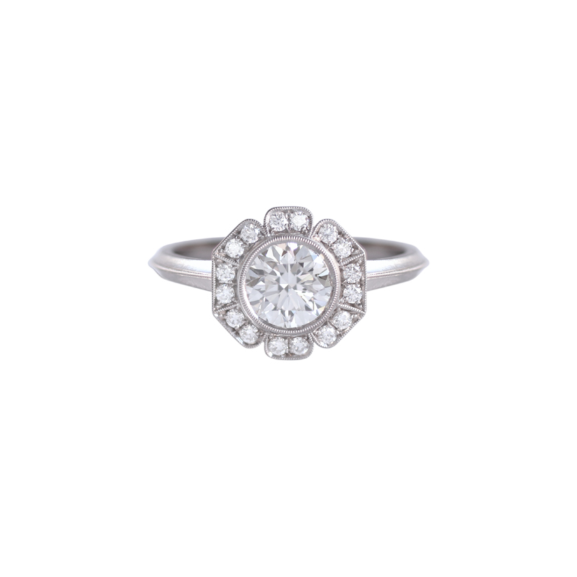 Erika Winters Fine Jewelry Caroline Halo Engagement Ring