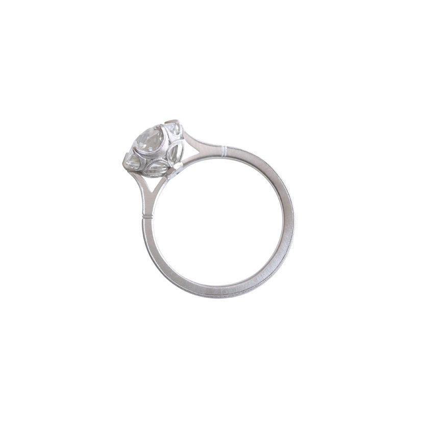 Grace Cathedral Solitaire – Erika Winters Fine Jewelry