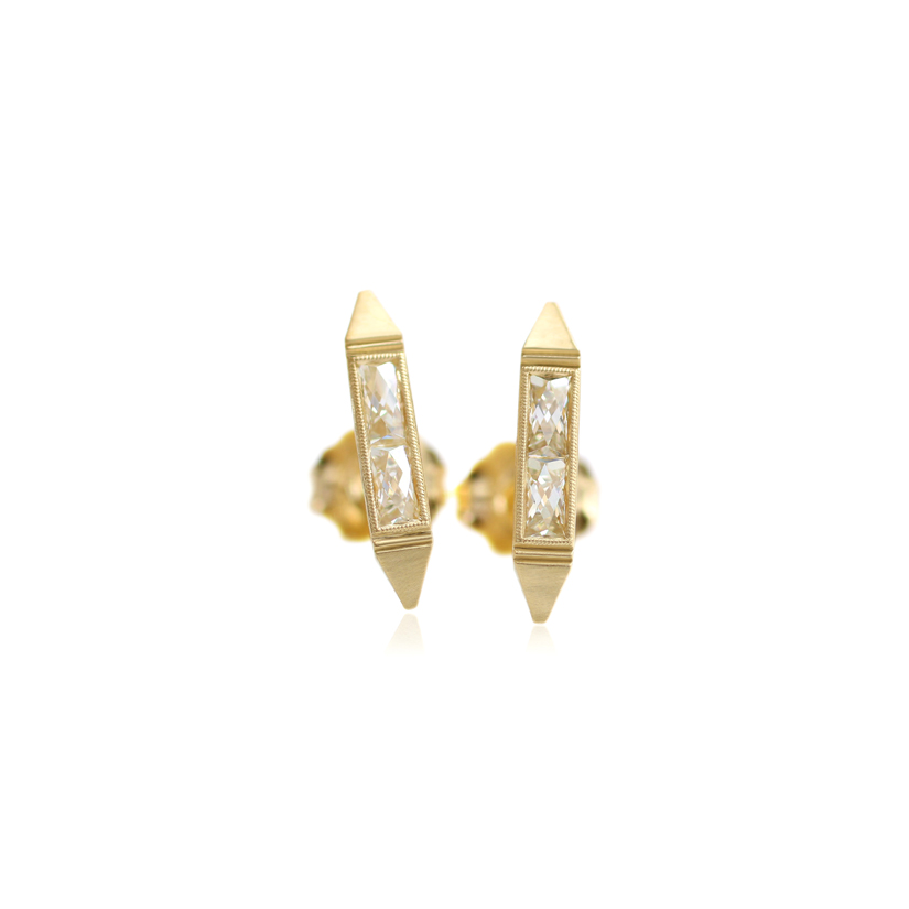 Erika Winters Fine Jewelry Estella Bar Earrings