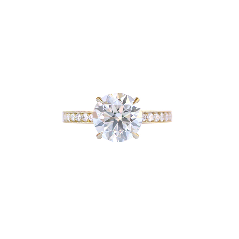 Erika Winters Fine Jewelry Laurel Solitaire Engagement Ring