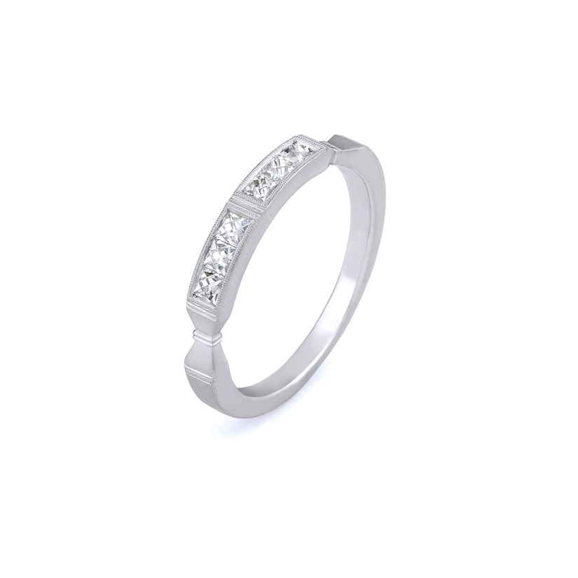 Erika Winters Fine Jewelry Wedding Band Eleanor