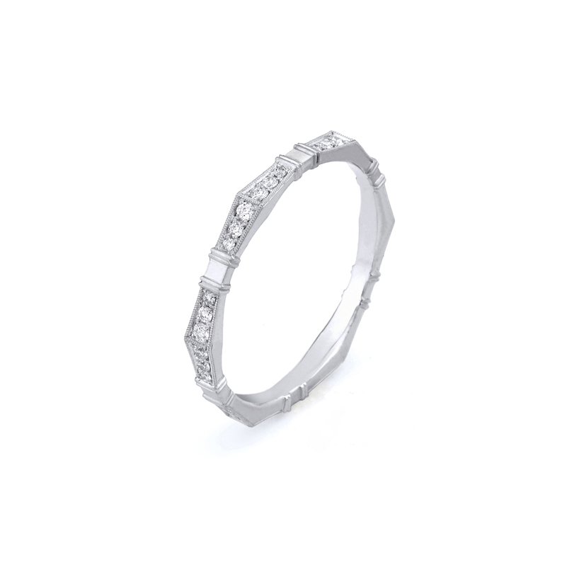 Erika Winters Fine Jewelry Wedding Band Imogen