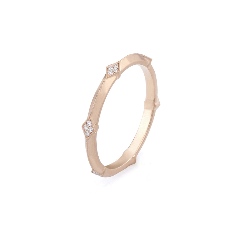 Erika Winters Fine Jewelry Wedding Band Lily