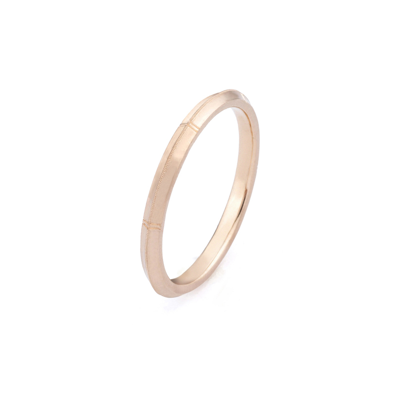 Erika Winters Fine Jewelry Wedding Band Rose