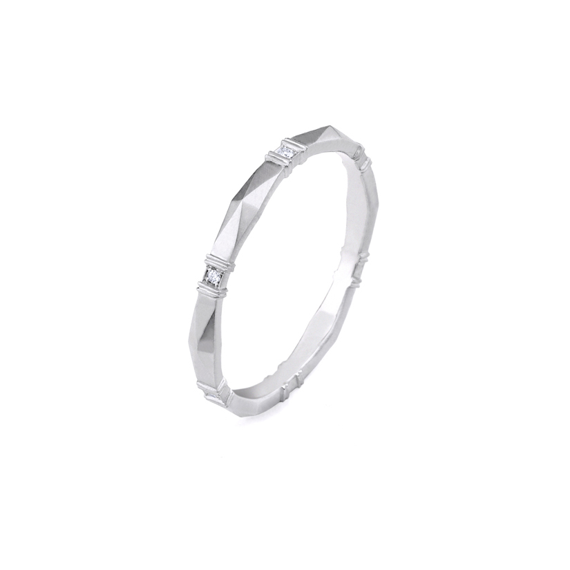 Erika Winters Fine Jewelry Wedding Band Viola