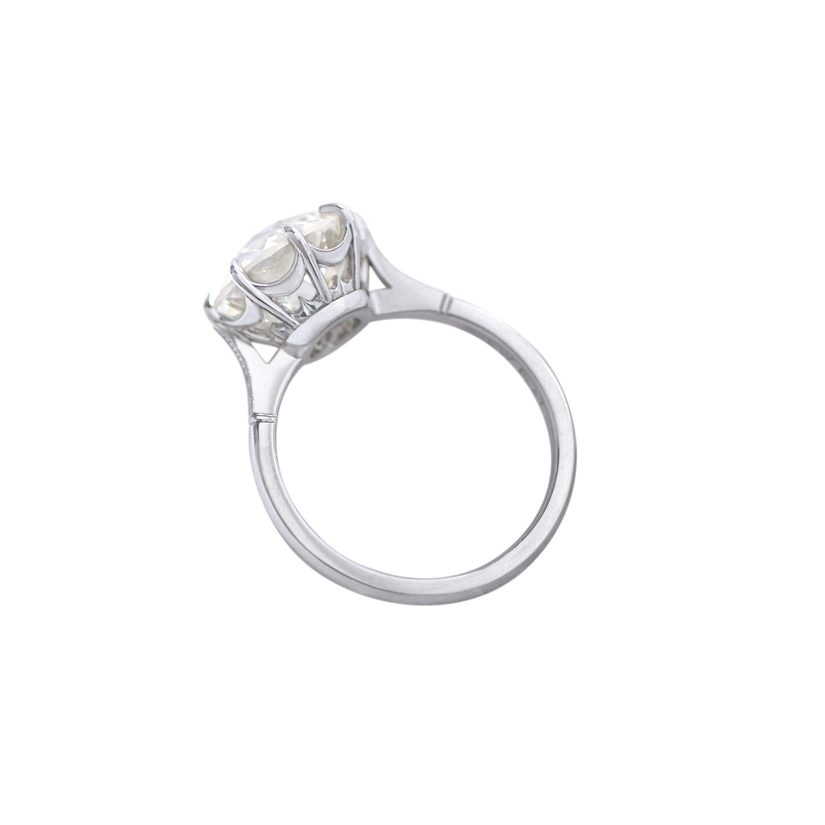 Erika Winters Fine Jewelry Margot Solitaire Engagement Ring profile