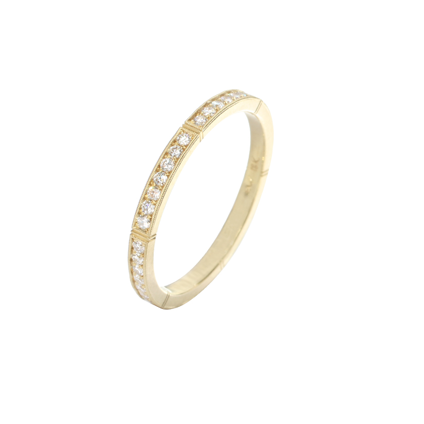 Erika Winters Fine Jewelry Wedding Band Isabella Petite