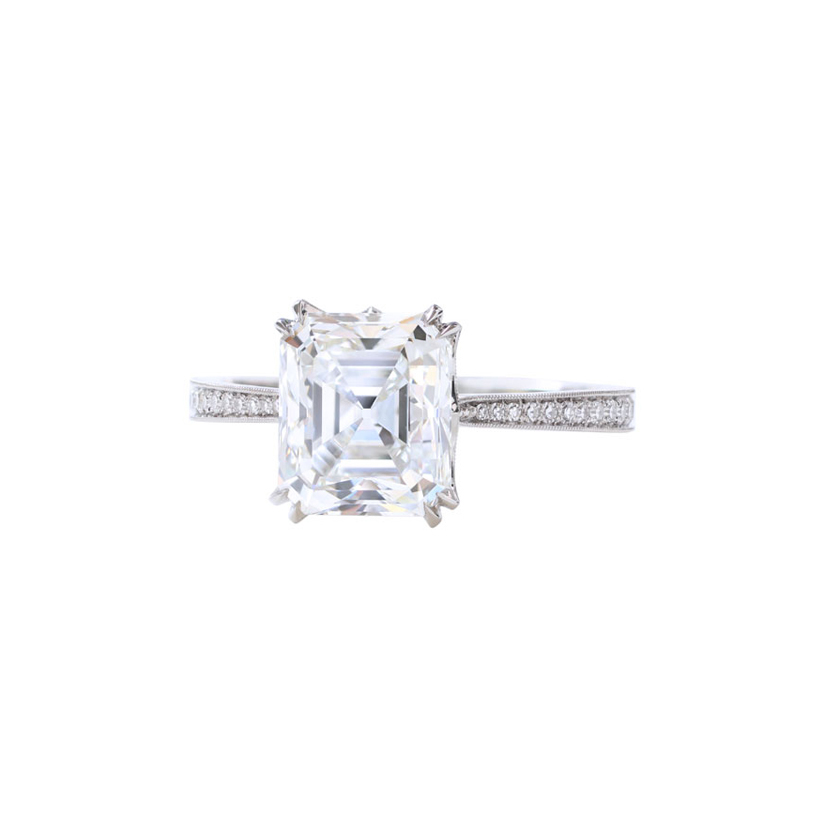Erika Winters Fine Jewelry Willa Double-Claw Solitaire